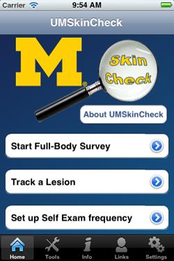 UM Skin Check App